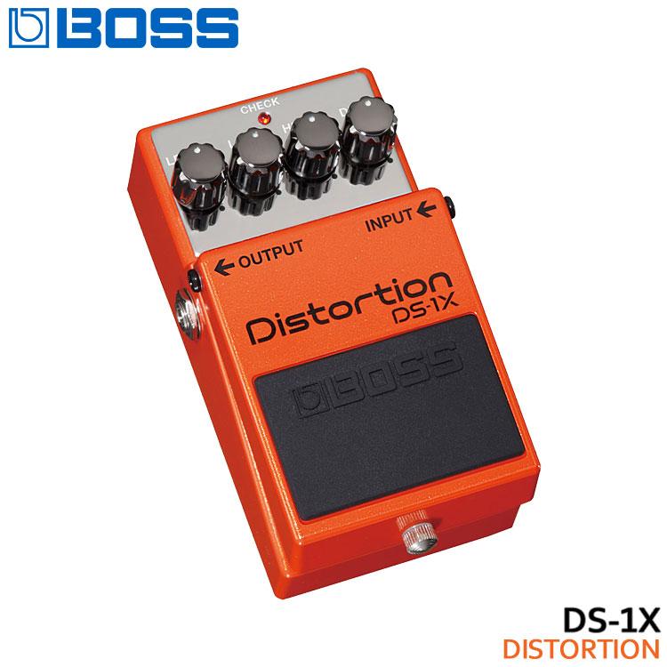在庫あります【送料無料】BOSS ディストーション DS-1X Distortion ボスコンパクトエフェクター【ラッキーシール対応】