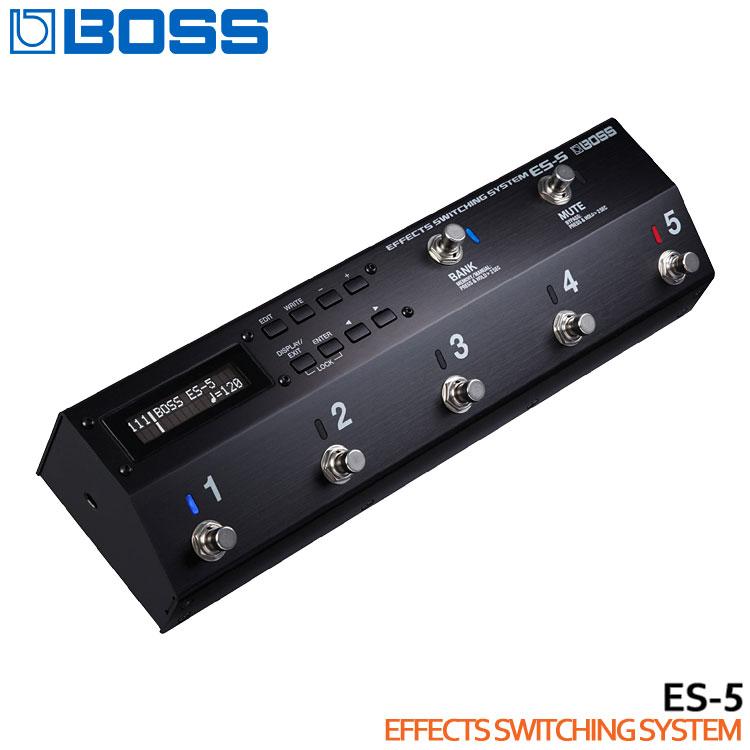 在庫あり【送料無料】BOSS エフェクトスイッチングシステム ES-5 ボス スイッチャー【ラッキーシール対応】