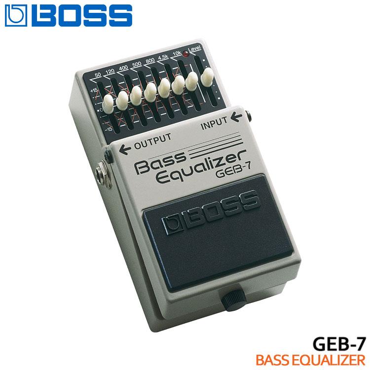 【送料無料】BOSS ベースイコライザー GEB-7 Bass Equalizer ボスコンパクトエフェクター【ラッキーシール対応】