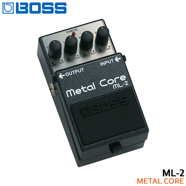 【送料無料】BOSS メタルコア ML-2 Metal Core ボスコンパクトエフェクター【ラッキーシール対応】