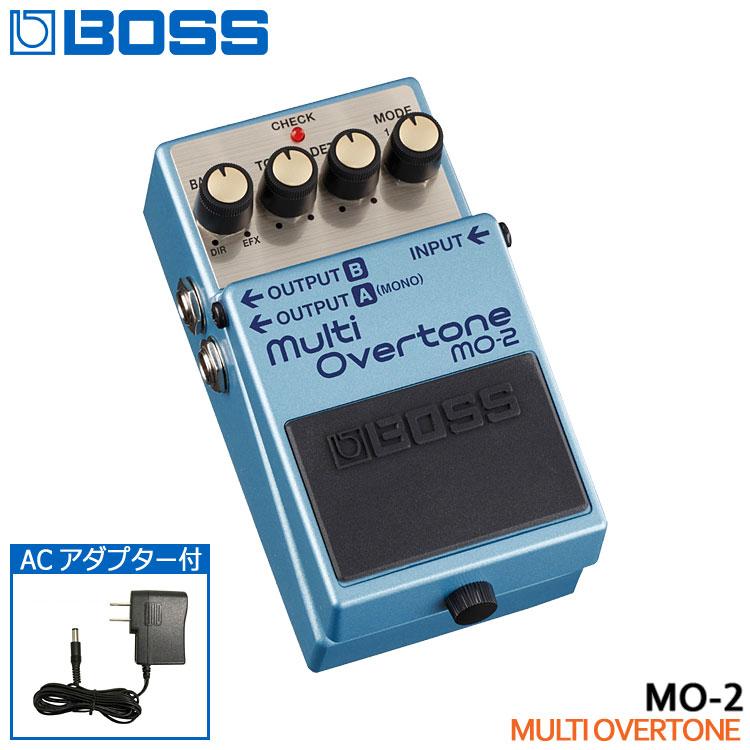ACアダプター付き【送料無料】BOSS マルチオーバートーン MO-2 Multi Overtone ボスコンパクトエフェクター■PU5