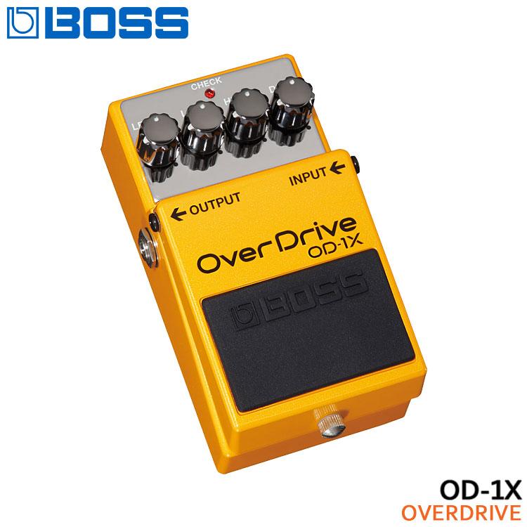 【送料無料】BOSS オーバードライブ OD-1X OverDrive ボスコンパクトエフェクター