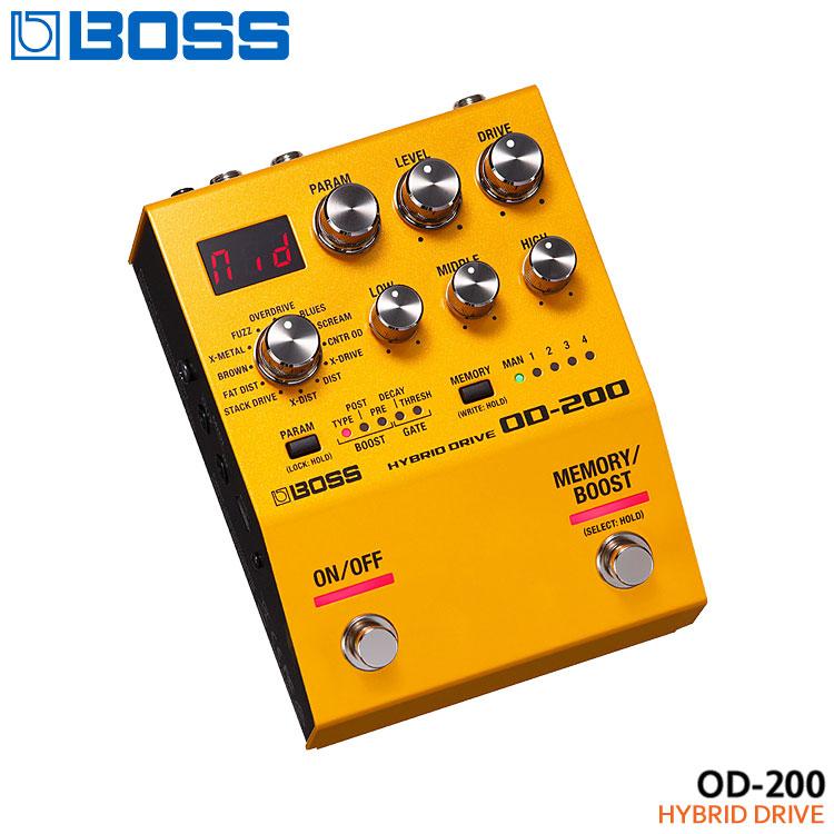 在庫あります【送料無料】BOSS ハイブリッドドライブ OD-200 Hybrid Drive ボスコンパクトエフェクター