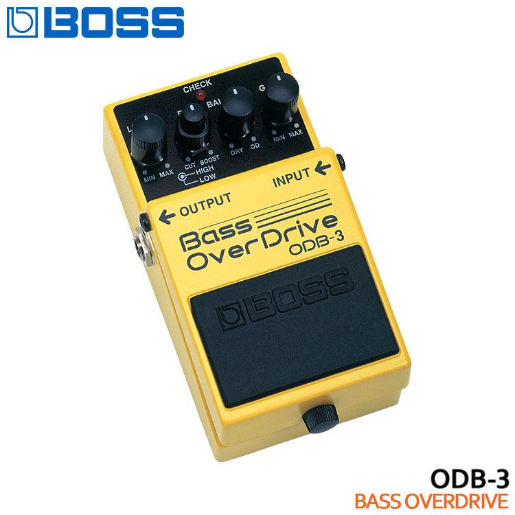 【送料無料】BOSS ベースオーバードライブ ODB-3 Bass OverDrive ボスコンパクトエフェクター