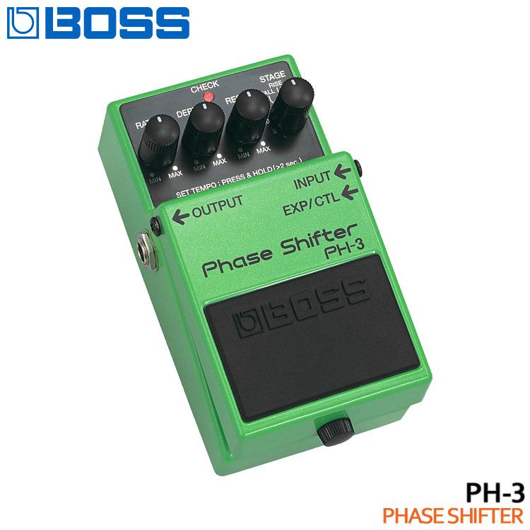 在庫あり【送料無料】BOSS フェイズシフター PH-3 Phase Shifter ボスコンパクトエフェクター