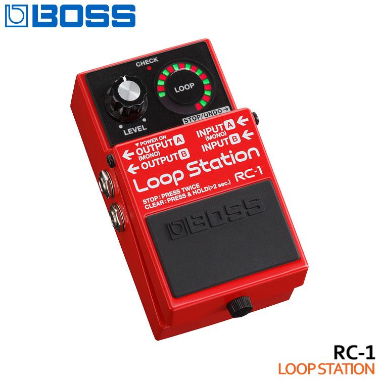 【送料無料】BOSS ループステーション RC-1 Loop Station ボスコンパクトエフェクター■PU5