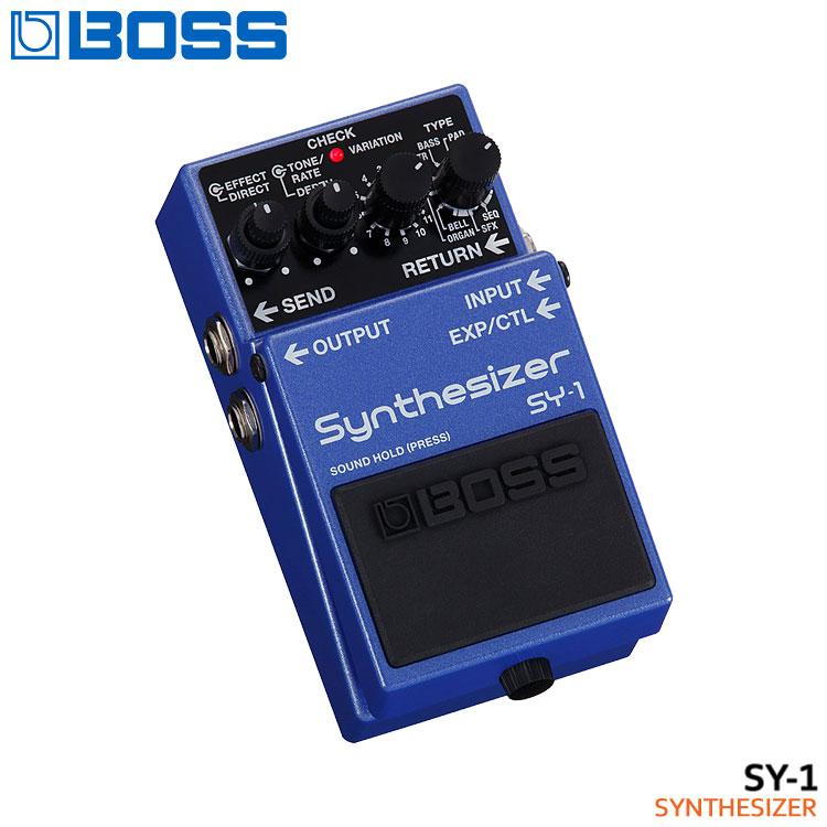 在庫あり【送料無料】BOSS ギターシンセサイザー SY-1 Synthesizer ボスコンパクトエフェクター