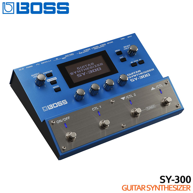 在庫あり【送料無料】BOSS ギターシンセサイザー SY-300 ボスエフェクター