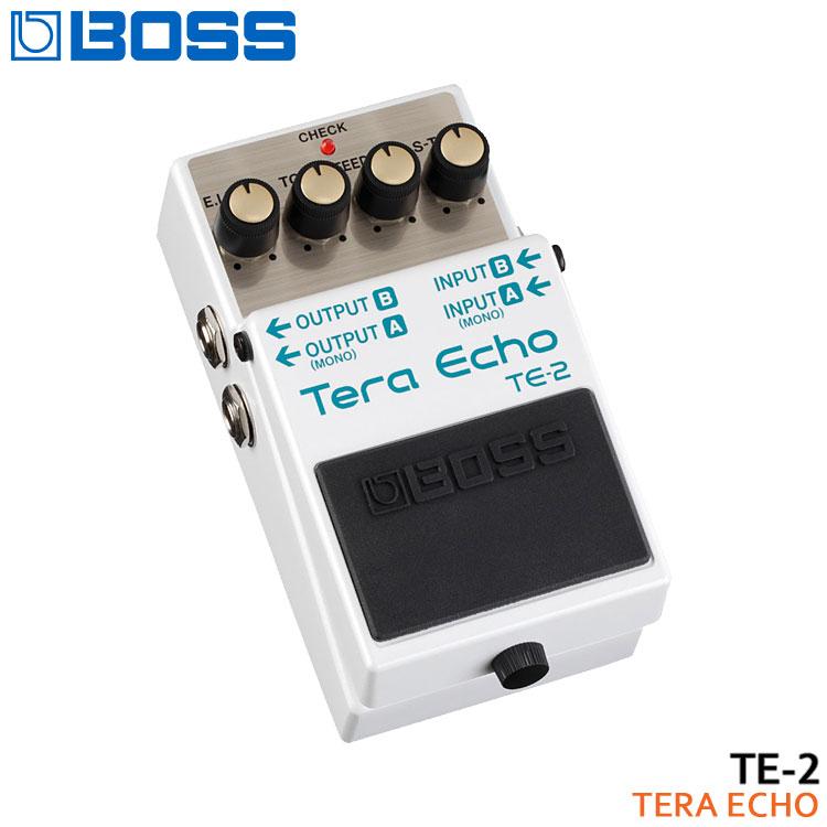 【送料無料】BOSS テラエコー TE-2 Tera Echo ボスコンパクトエフェクター【ラッキーシール対応】