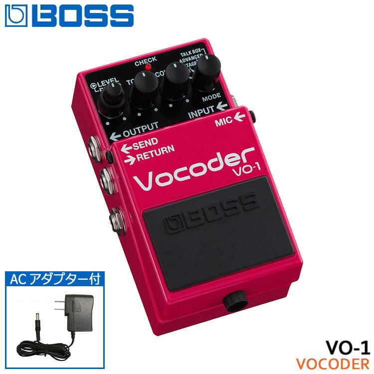 ACアダプター付き【送料無料】BOSS ボコーダー VO-1 ボスコンパクトエフェクター