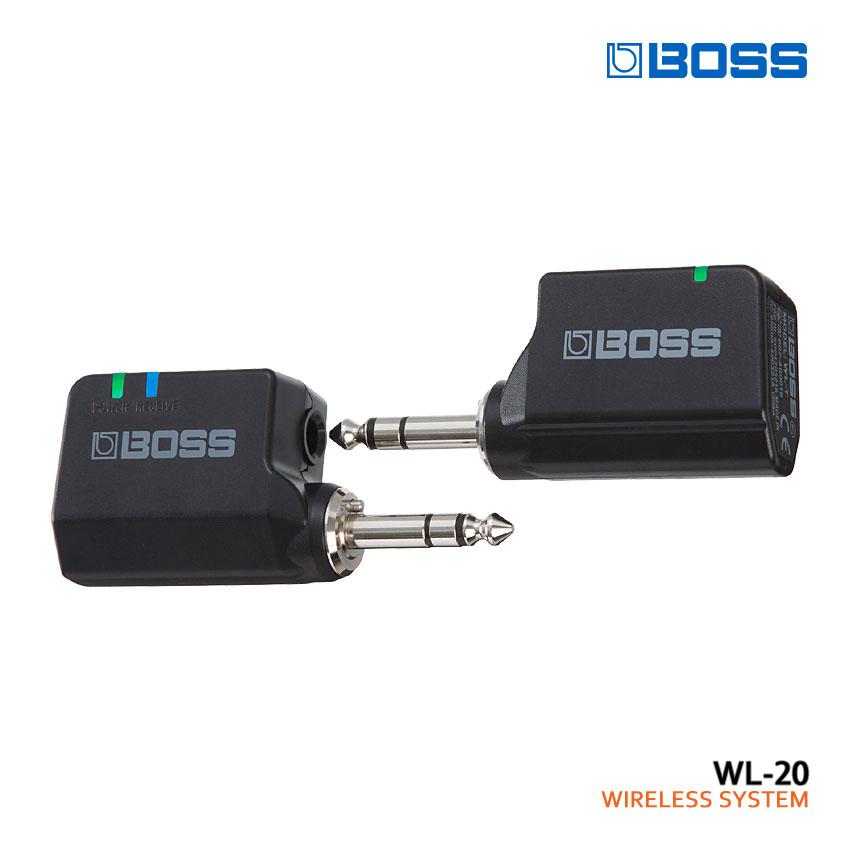 【送料無料】BOSS ワイヤレスシステム WL-20 ボス■PU5