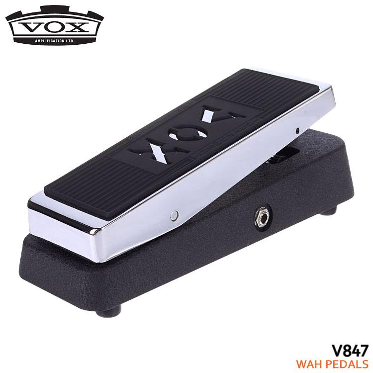 【純正アダプター付】VOX ワウペダル V847-A オリジナルワウペダル ヴォックス