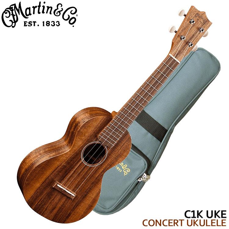 在庫あります【送料無料】Martin コンサートウクレレ C1K UKE コア マーチン