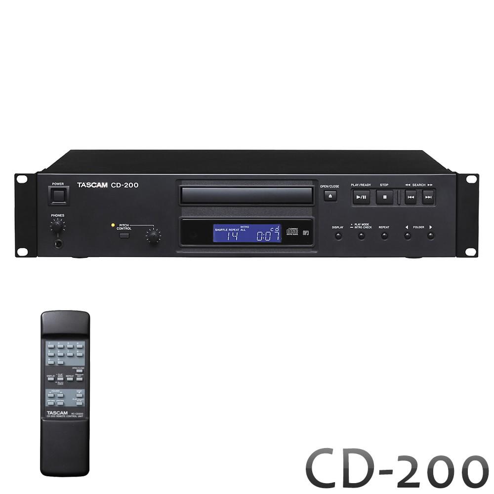 【送料無料】TASCAM (タスカム) 業務用CDプレイヤー CD-200