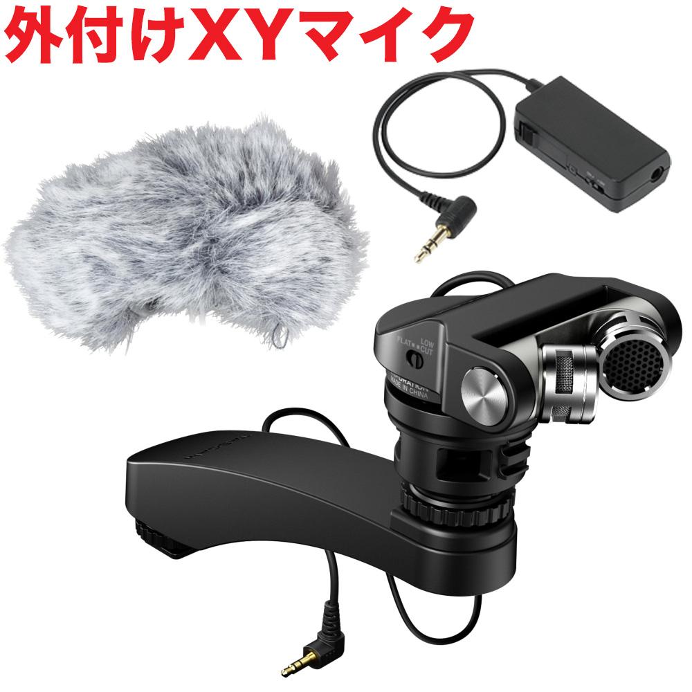 【送料無料】TASCAM デジタル一眼レフカメラ XYマイク TM-2X(電源供給器付セット)【ラッキーシール対応】