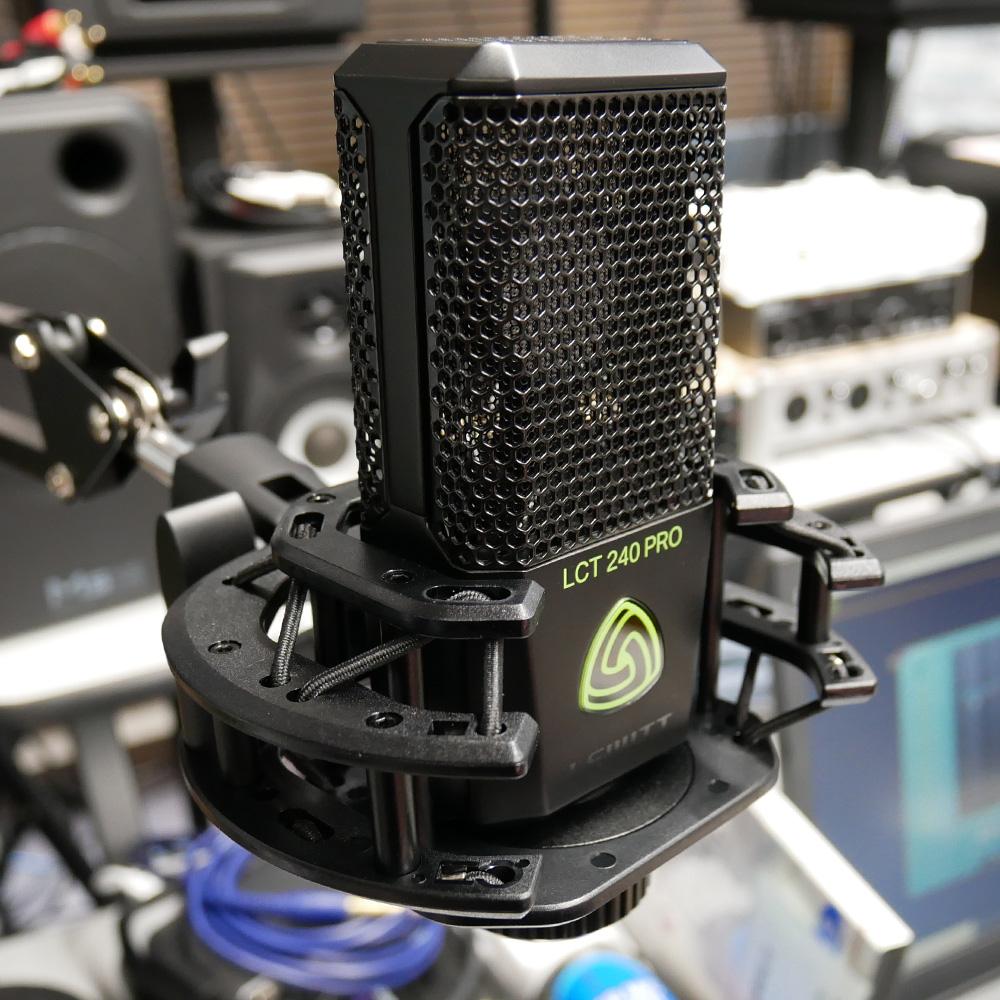 【送料無料】LEWITT コンデンサーマイク LCT240PRO/BK (サスペンションショックマウント付) ロックな歌ものに