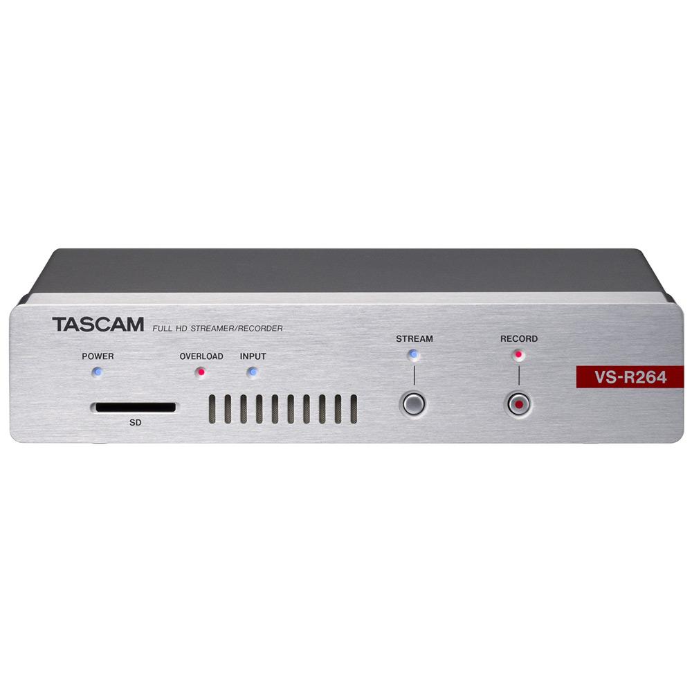 【送料無料】TASCAM FullHD ストリーマー/ビデオレコーダー VS-R264