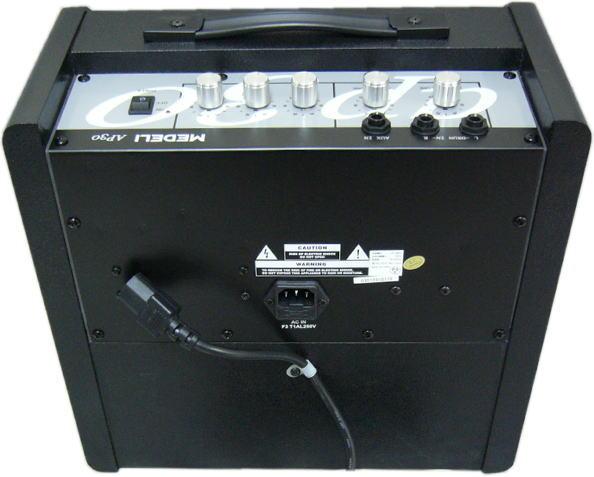 库存和 MEDELI 30 W 监测放大器 (电子鼓) 美联社 30︰ 模型 AP30