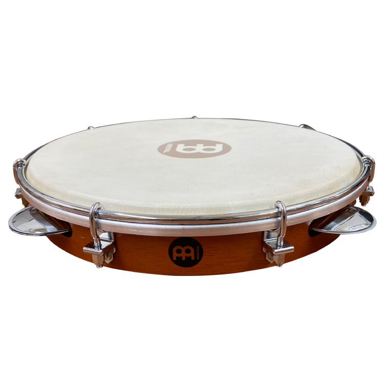 MEINL 信頼 パンデイロ 送料無料 PA10CN-M 新生活 Traditional 10インチ Pandeiro Wood