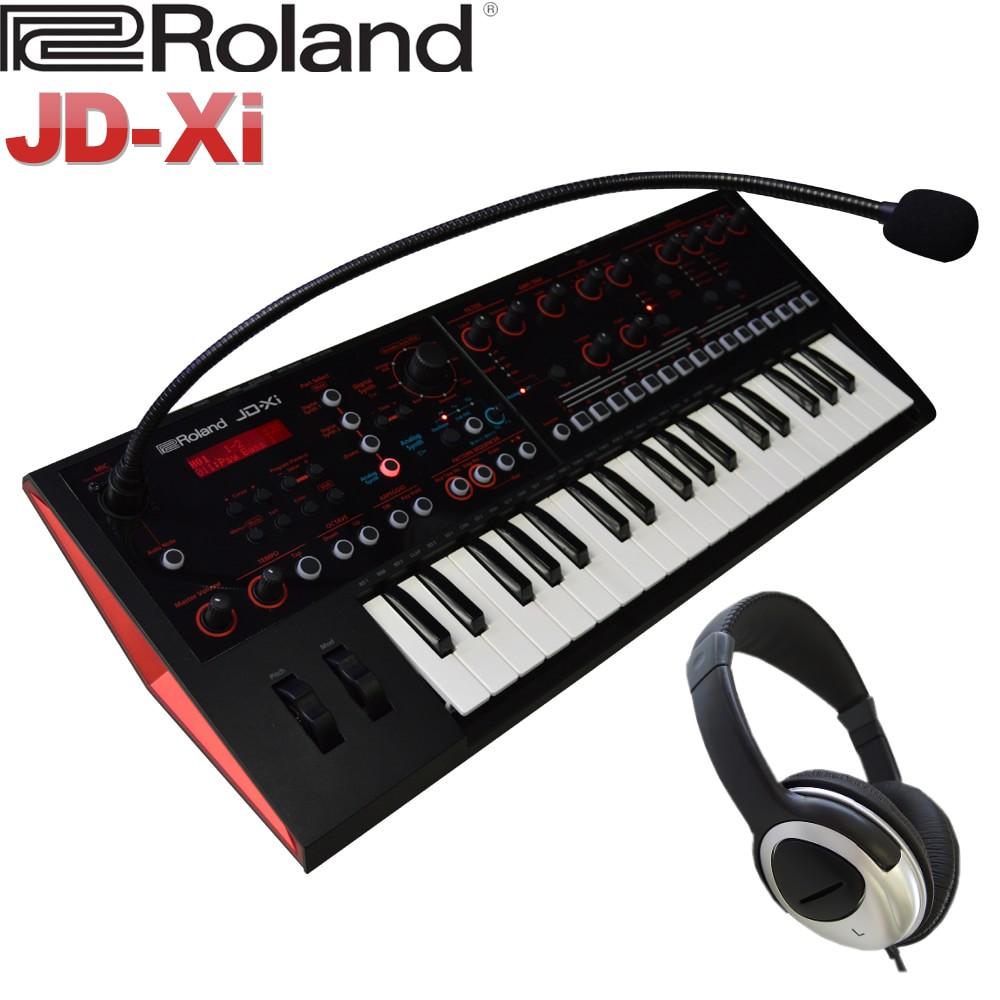 Roland シンセサイザー JD-Xi (ヘッドフォン付きセット)ローランド【送料無料】