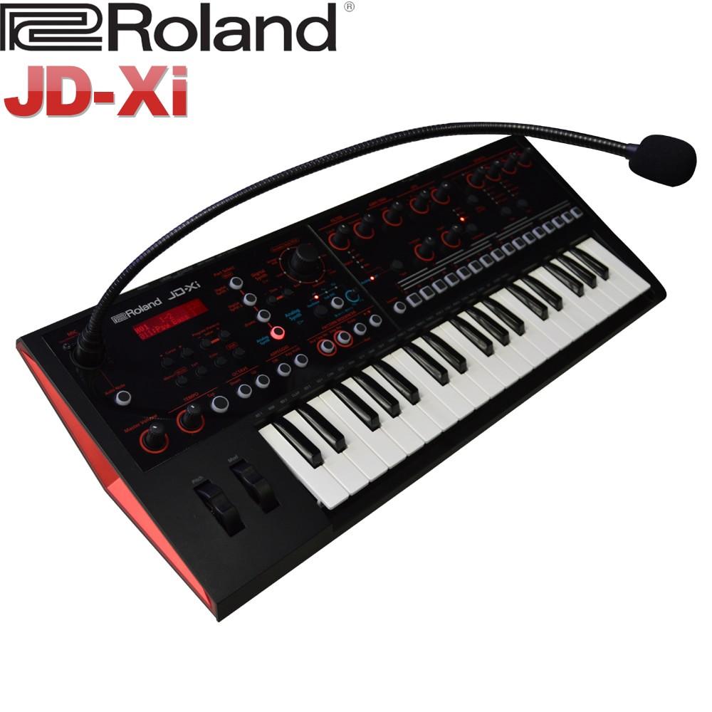 【送料無料】Roland アナログ・デジタルシンセサイザー JD-Xi (グースネックマイク付属) ローランド/キーボード【ラッキーシール対応】