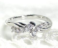 pt950 pt900 天然 ダイヤ 0.30ct プラチナ リング フチあり 指輪 レディース テン SIクラス ダイヤモンド 10石 0.3カラット スイート プラチナ900 950 10周年 結婚記念 プレゼント ブライダル YG WG PG 品質保証書付