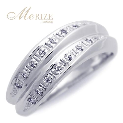 "pt950 / pt900 天然 ダイヤ プラチナ ウェーブ リング ダイヤリング ""Viviane ヴヴィアンヌ"" - 一生添い遂げられる。永く使える上品かつ普遍的なデザイン。高級素材 プラチナ900 をたっぷりと惜しみ無く。何にも変え難い 一生モノ の ダイヤモンド プラチナリング 。"