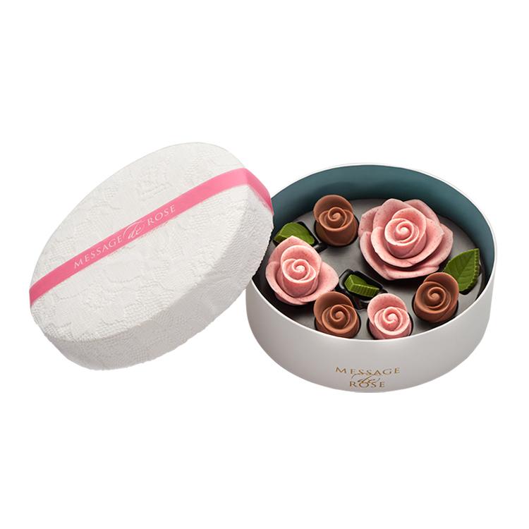 ギフトに薔薇のチョコレートを贈りませんか ホワイトデー 母の日 バースデー 綺麗 美しい チョコ 激安卸販売新品 薔薇 薔薇型 バラの形 花びら ローズ 記念 特別 在庫一掃 結婚 かわいい メサージュ ロゼ ギフト バラ 贈り物 ロズレ おしゃれ ド 手土産 プチギフト 誕生日 お祝い お返し