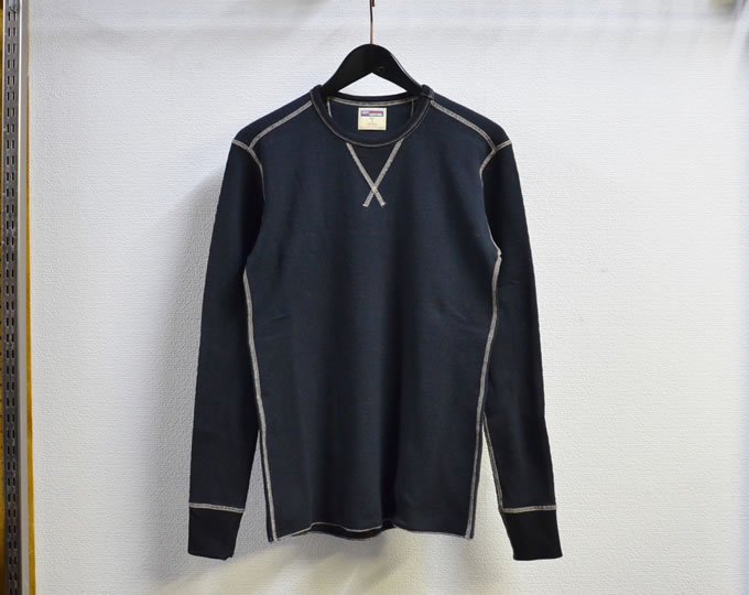 [ LOST CONTROL ] サーマルロングスリーブカットソー / Thermal L/S Cut&Sewn ( Black )