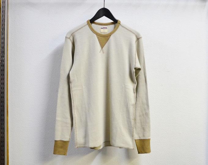 [ LOST CONTROL ] サーマルロングスリーブカットソー / Thermal L/S Cut&Sewn ( Natural )