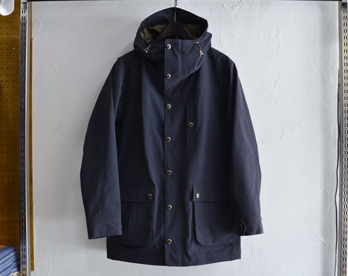 [ lost control ] フードフィールドジャケット / Hooded Field Jacket -3layer- (black)
