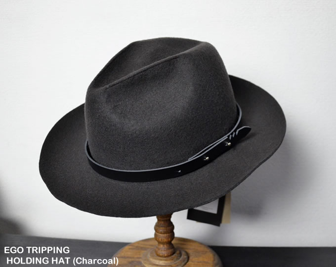 [ EGO TRIPPING ] ホールディングハット / HOLDING HAT(Charcoal)