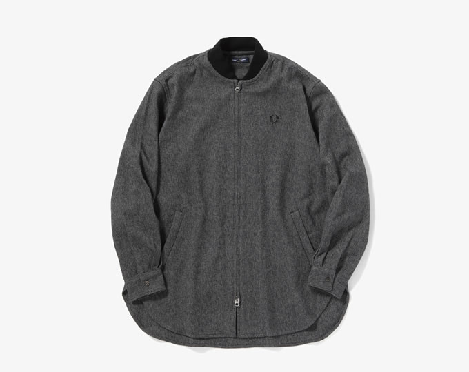 [ FRED PERRY ] ボンバーロングシャツ / Bomber Long Shirt