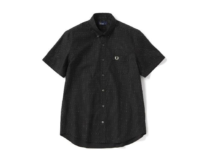 [ FRED PERRY ] レギュラーカラー半袖シャツ / Regular Collar S/S Shirt