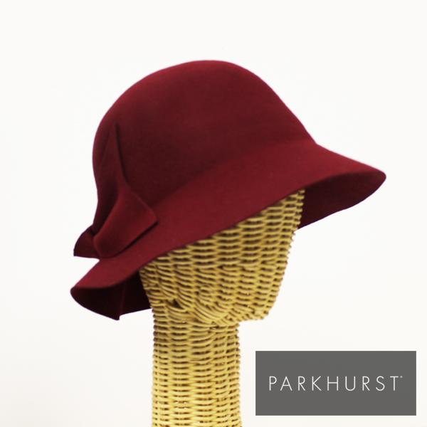 ウール フェルト 帽子/ハットインポート レディース 帽子パークハースト/PARKHURST