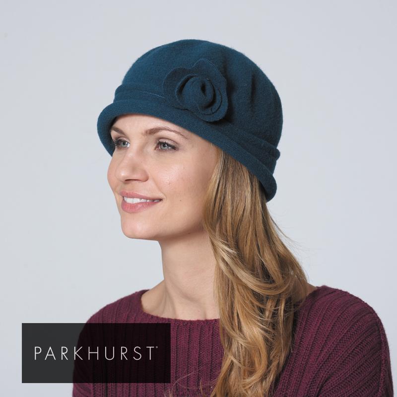messe  Wool felt hat with soft 11b2bc84c72