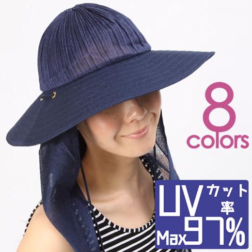 【送料無料】【再び週間ランキング1位獲得!20/3/11】日焼け対策&防止ベール付き97%UVカットつば広女優帽子 猛暑に負けないムレにくく涼しい薄手メッシュ素材 紫外線対策熱中症予防 つばが大きいUV対策 レディース サンベールサンウェア 速乾 海外旅行リゾートに◎