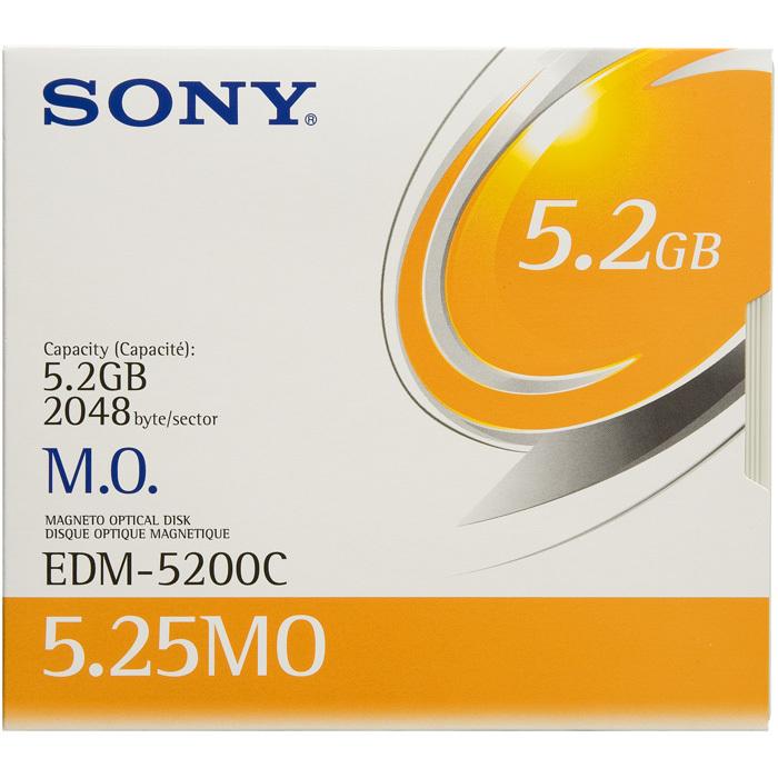 【送料無料】 SONY 5インチ MOディスク 5枚セット 5.2GB EDM-5200C 5.25インチ 5型 5.25型