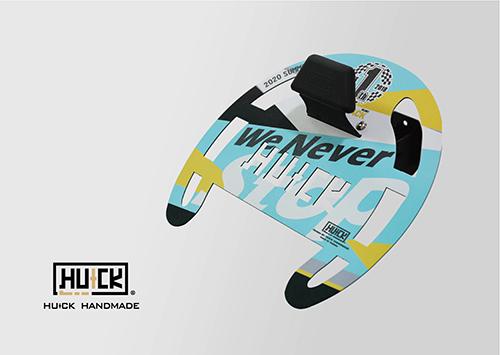 METEO メテオ 【HUCKシリーズ】 鉄製 ヘルメットハンガー パフォーマンス バイク 壁掛け インテリア 帽 若緑