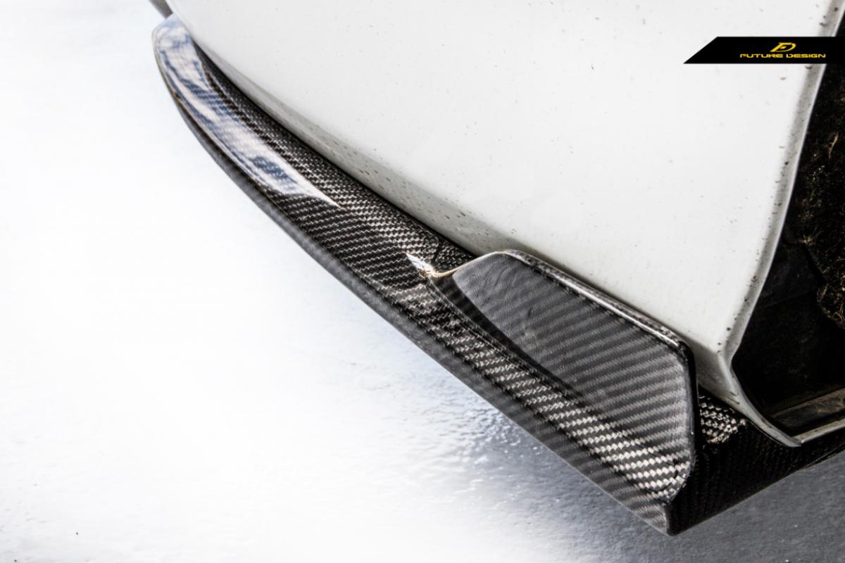 BENZ ベンツ Cクラス W205 セダン用リアバンパー リアスプリッター サイドスカート カーボン GT AMG  エアロ