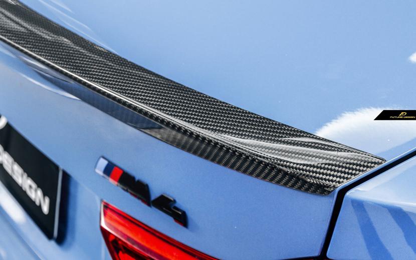 BMW F82 M4 トランク用 リアスポイラー ウィング カーボン DryCarbon 本物ドライカーボン PS パフォーマンス
