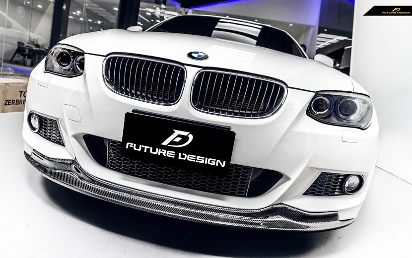 BMW 3シリーズ E92 E93 LCI M-TECH フロント用カーボン リップスポイラー DryCarbon ドライカーボン パフォーマンス ARKYM