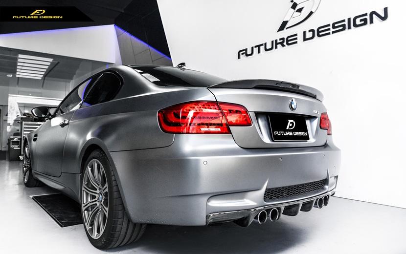 BMW 3シリーズ E92 M3 クーペ トランク用カーボン リアスポイラー ウィング DryCarbon ドライカーボン パフォーマンス P