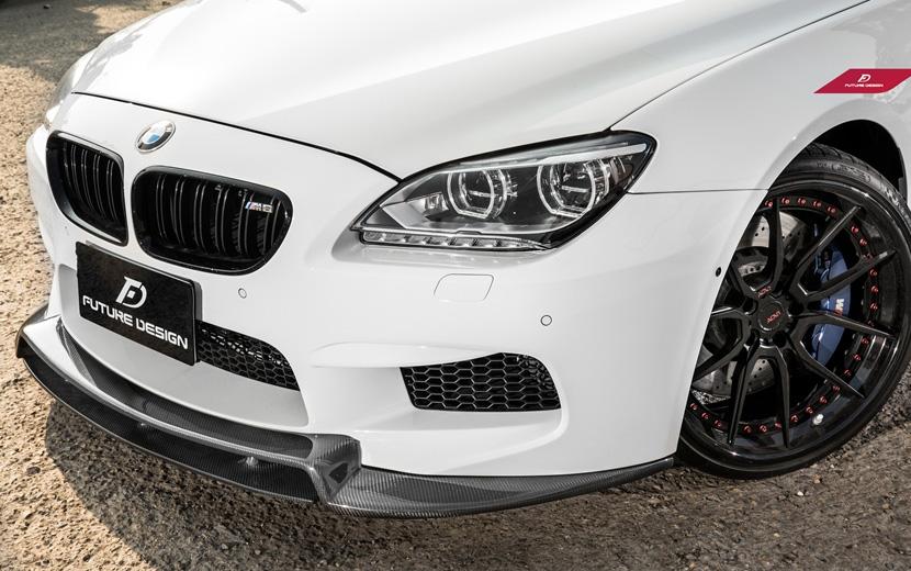 BMW 6シリーズ F06 F12 F13 M6フロント用カーボン リップスポイラー DryCarbon ドライカーボン パフォーマンス E