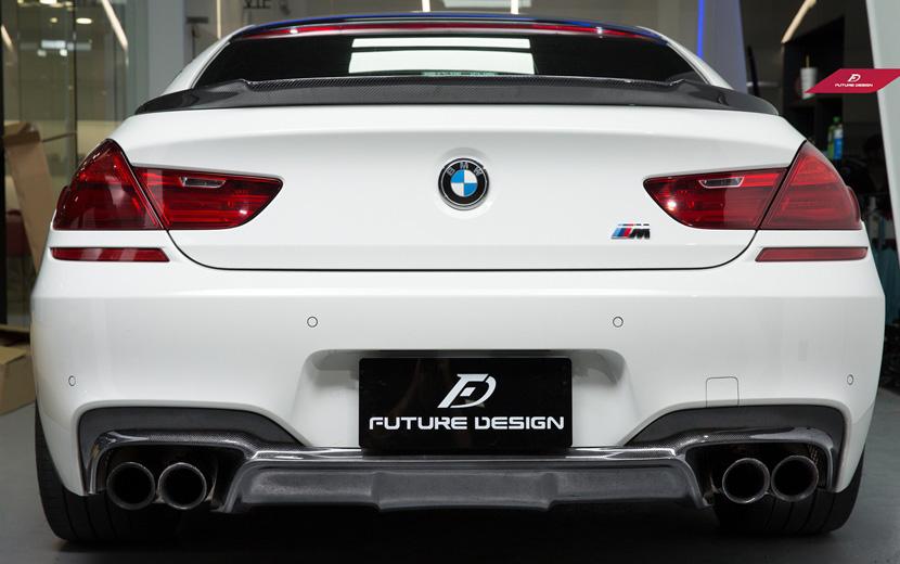 BMW 6シリーズ F06 F12 F13 Mスポーツバンパー用カーボン ディフューザー DryCarbon ドライカーボン パフォーマンス DD M-TECH