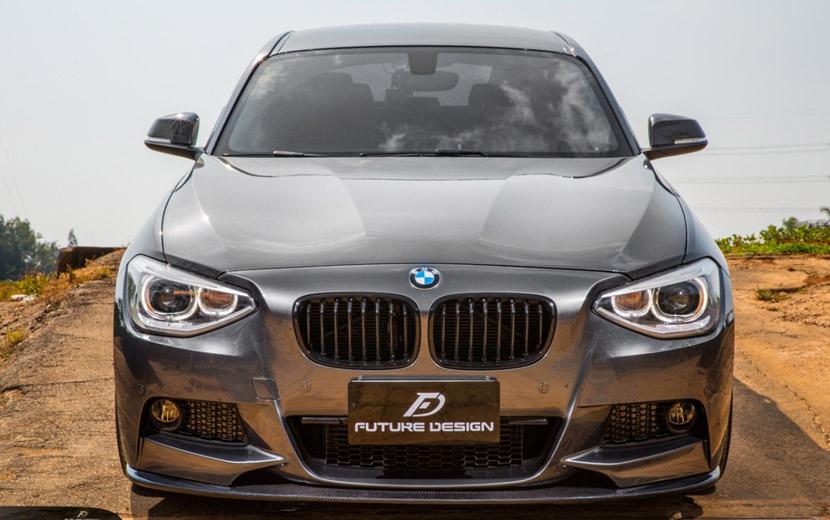 BMW 1シリーズ F20 Mスポーツ用フロント リップスポイラー 本物DryCarbon ドライカーボン Carbon カーボン パフォーマンス D スタイル
