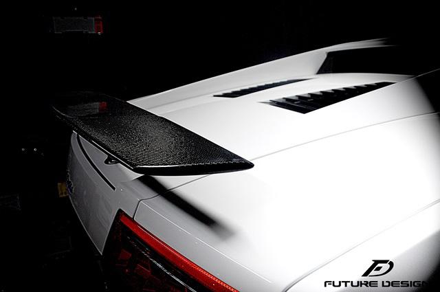 Lamborghini ランボルギーニ ガヤルド LP550 LP560 LP570 用 570タイプ カーボントランクスポイラー本物DryCarbon ドライカーボン