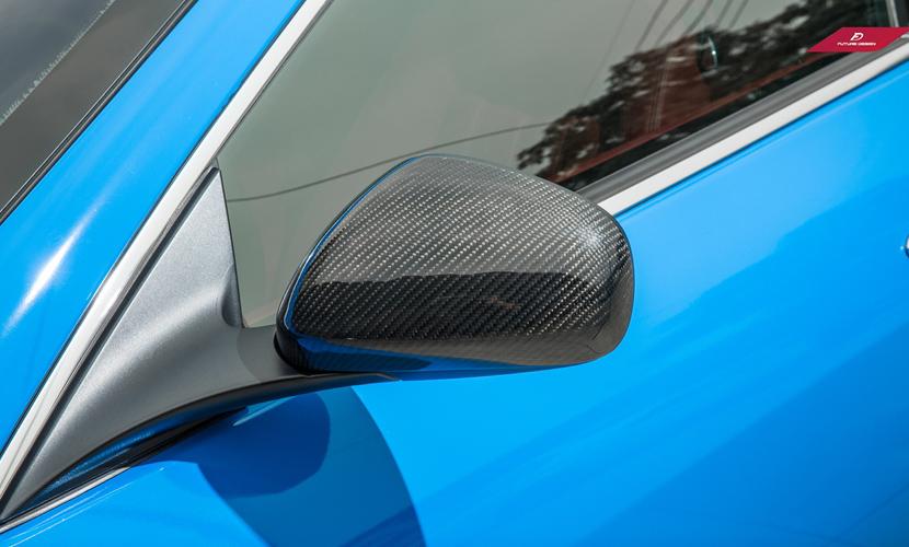 Maserati マセラティ GRANTURISMO グラントゥーリズモ 4.2 4.7 トドアミラー用カバー Cover 本物DryCarbon ドライカーボン スタイル