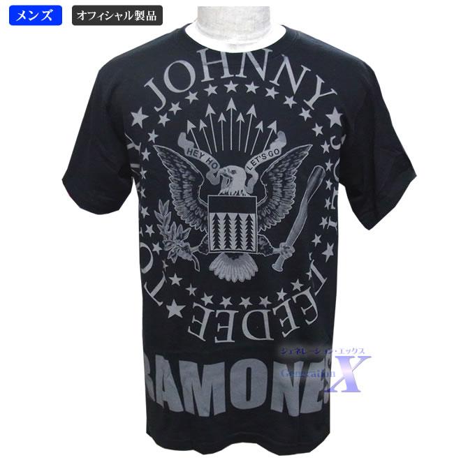 激安通販専門店 かっこいいロゴ ラモーンズ オフィシャル製品 メンズTシャツ タイプA 保証