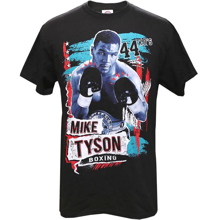 超人 AL完売しました。 マイクタイソン Mike Tyson 44ノックアウト メンズTシャツ 倉庫 米国オフィシャル製品